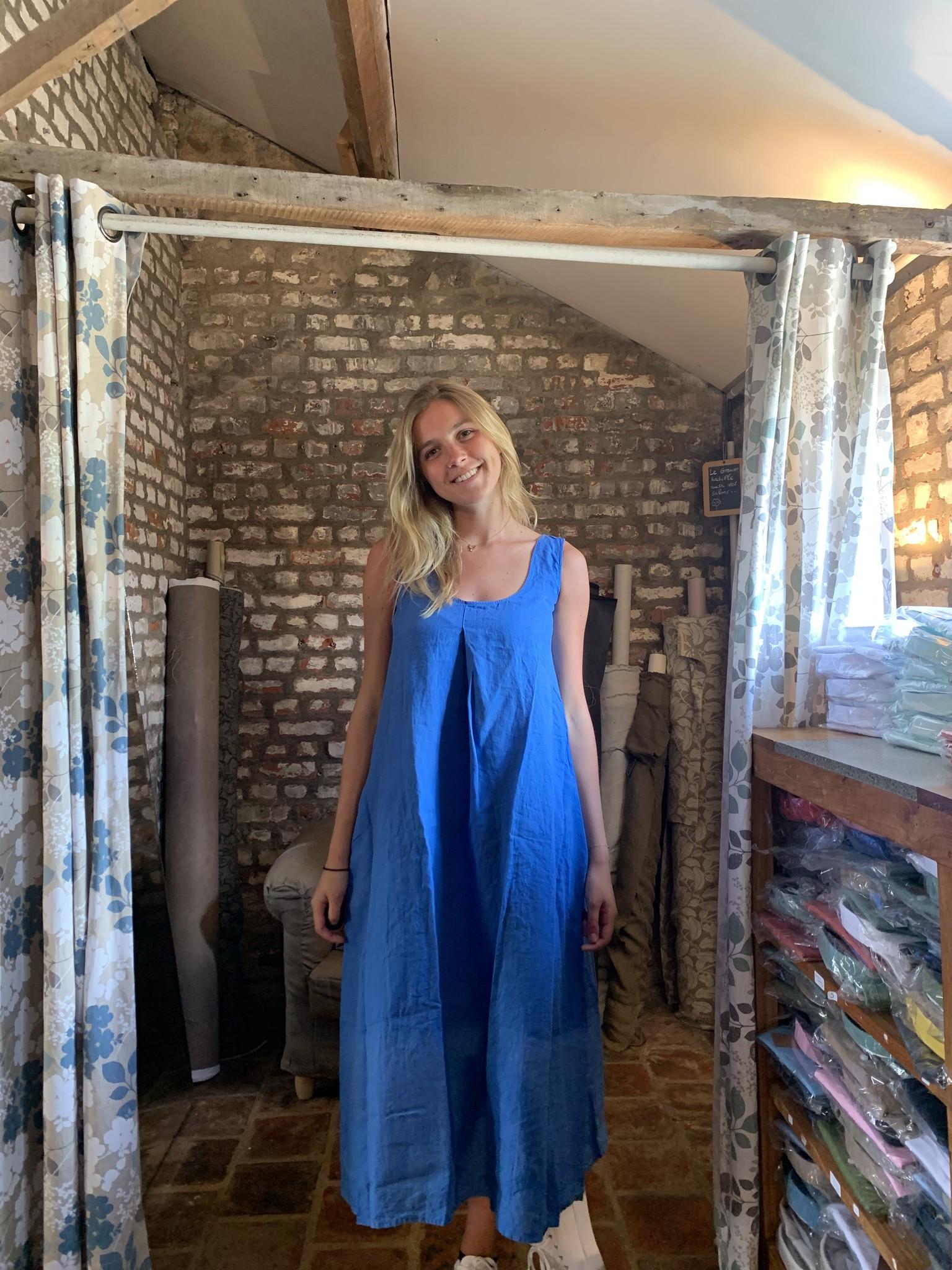 Le grenier du lin Robe Indira Caraïbes