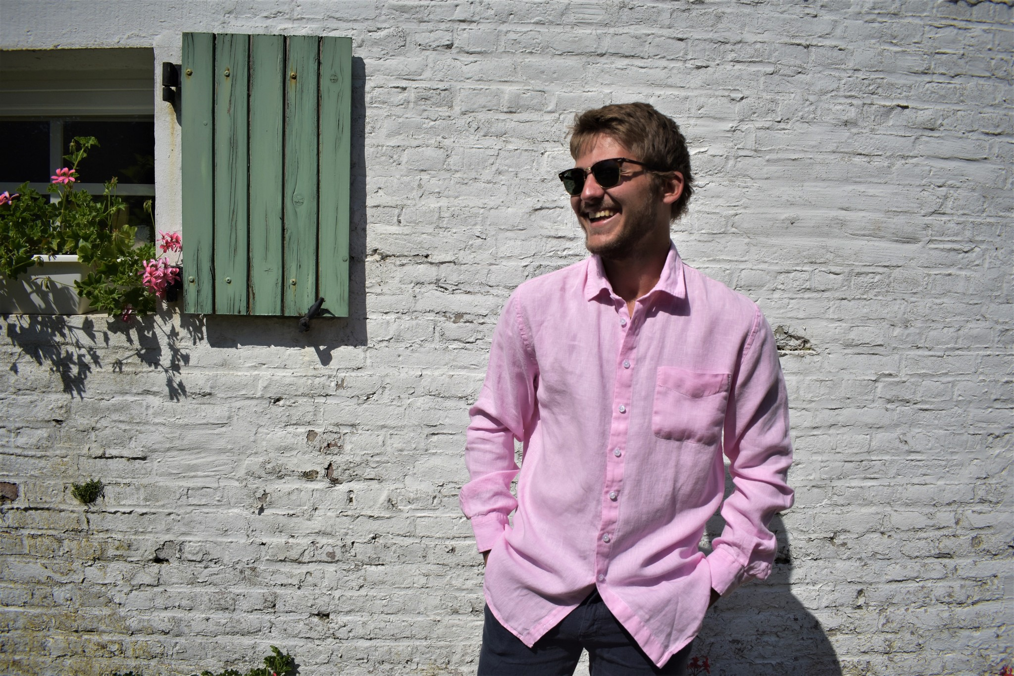 Le grenier du lin Long-sleeved shirt Pink