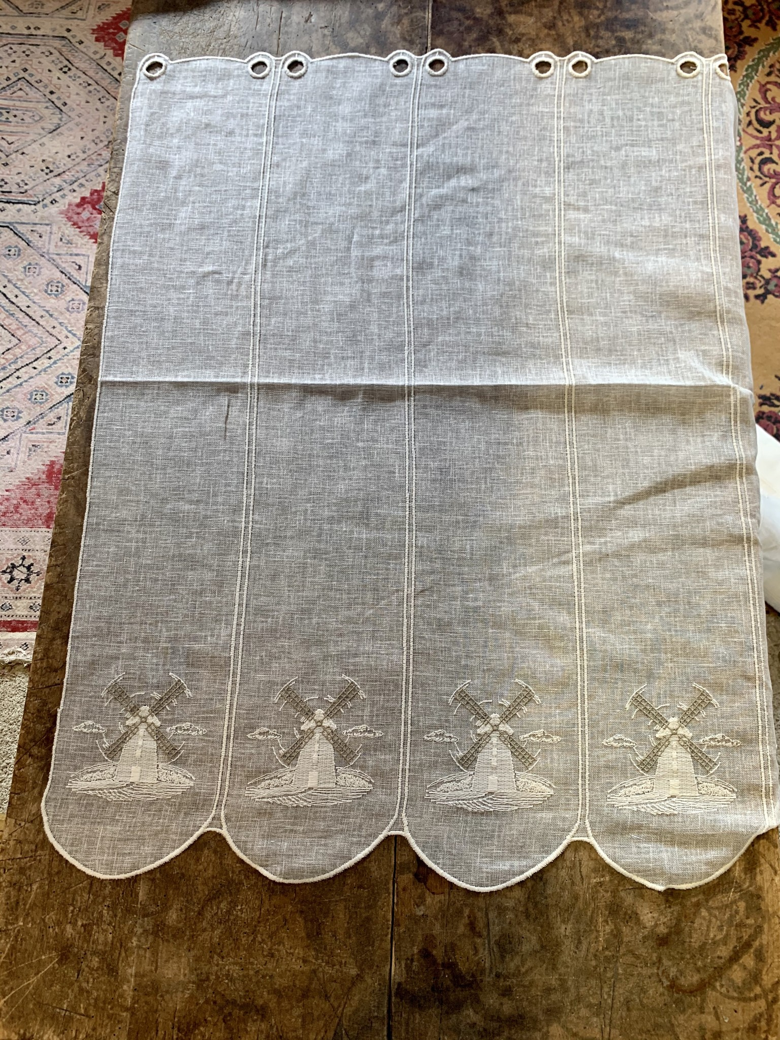 "curtain ""mill"" in 90cm height"