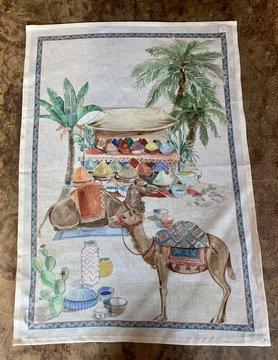 """Tea towel """"Dromedary"""