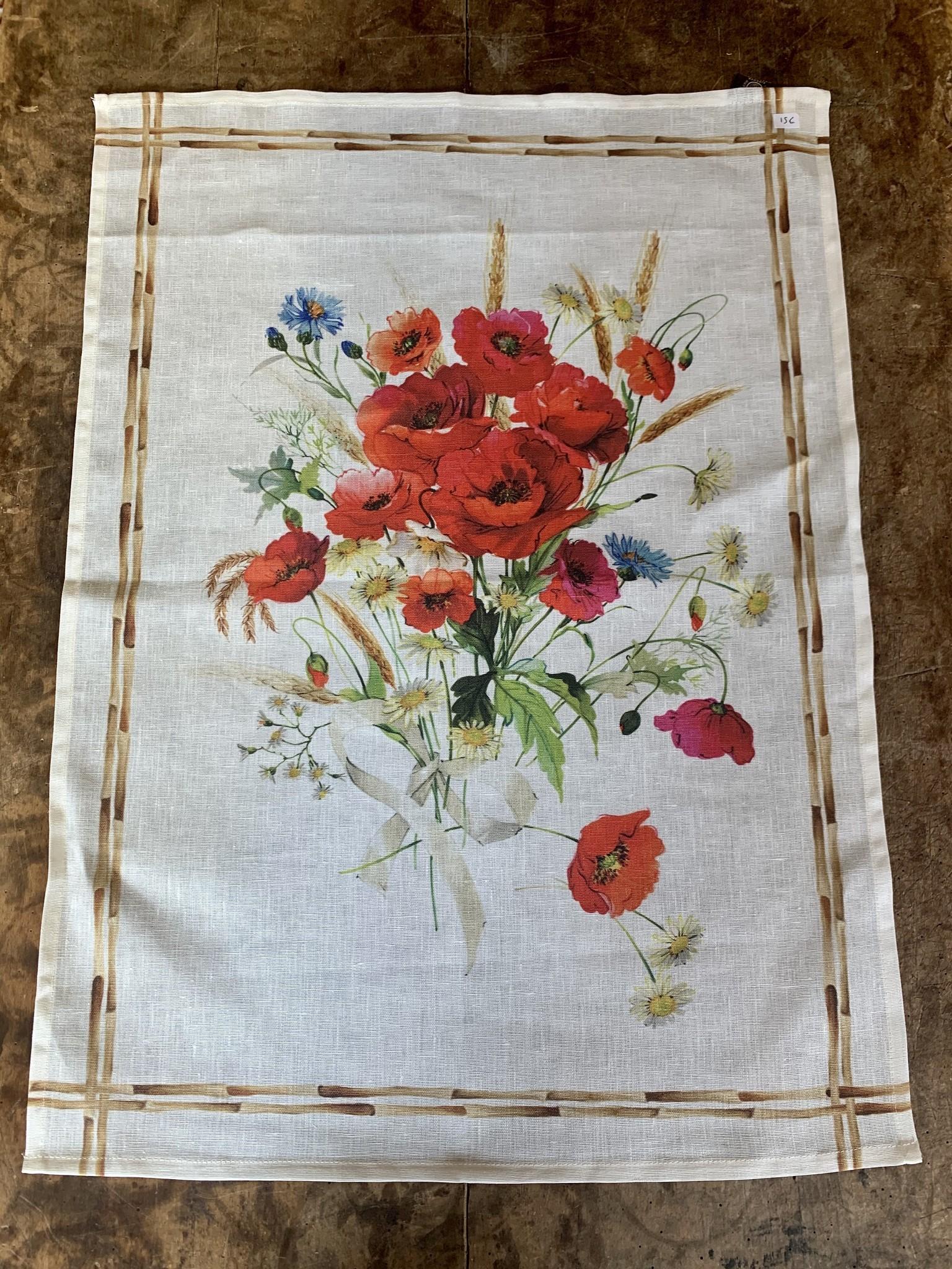 """Torchon """"Bouquet"""""""