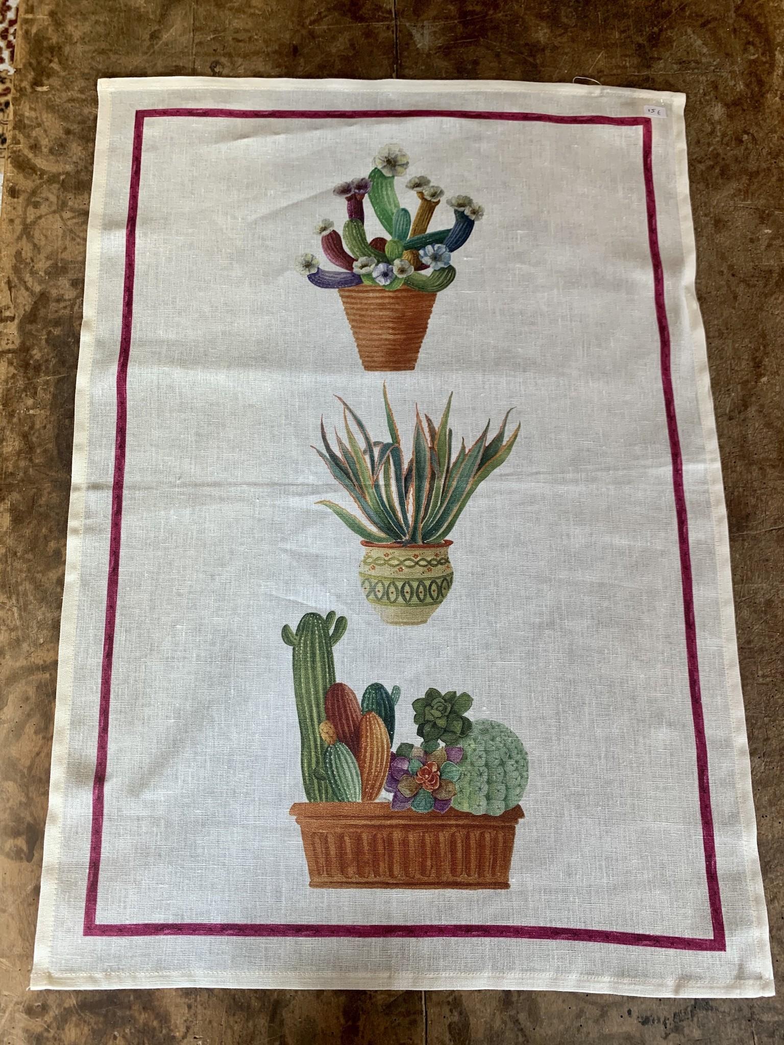 """""""Cactus"""" theedoek"""
