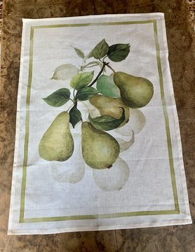Tea towel Pears