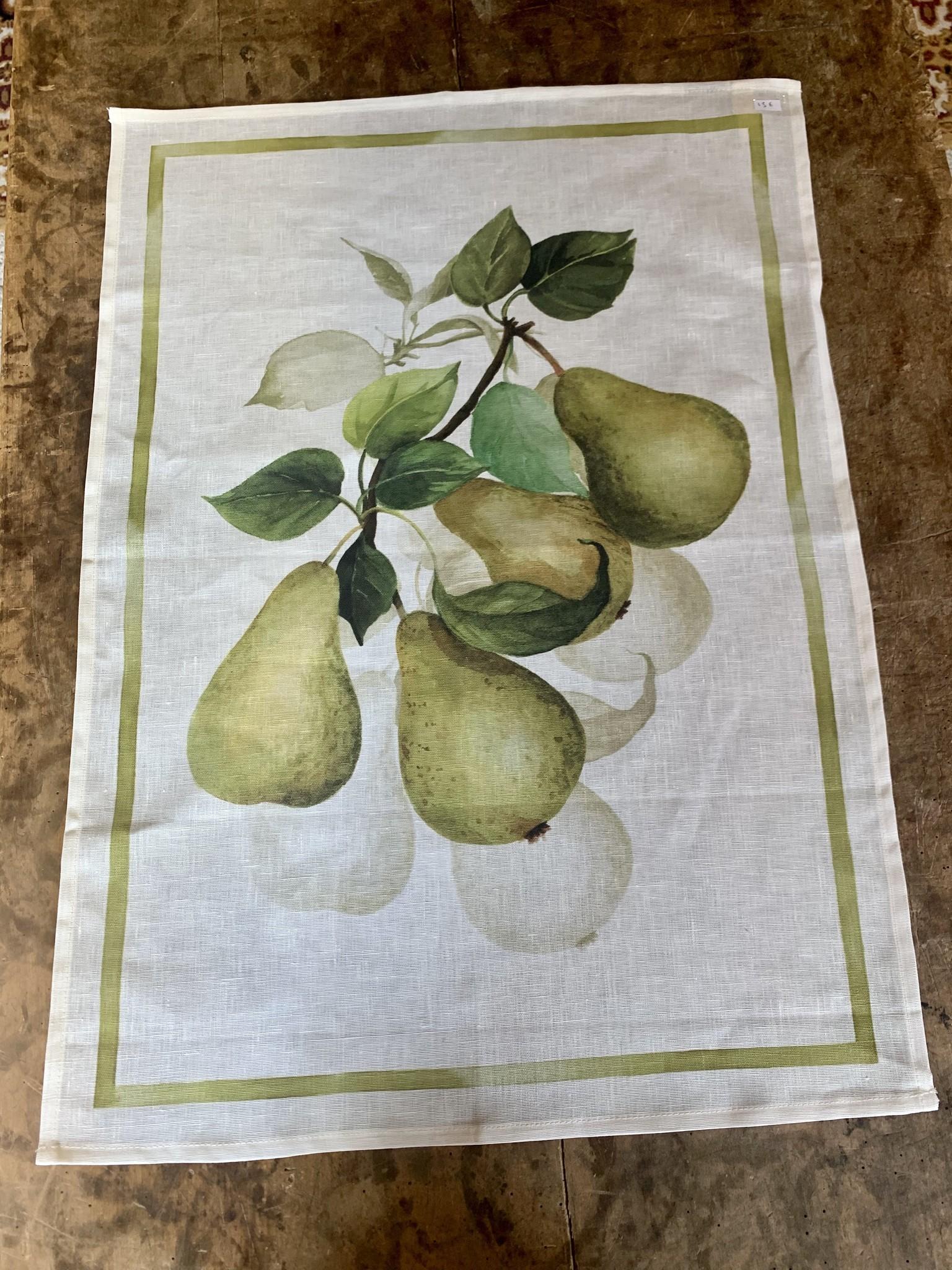 Tea towel Pears