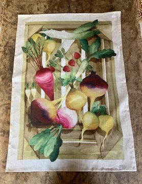 "Tea towel ""vegetables"""