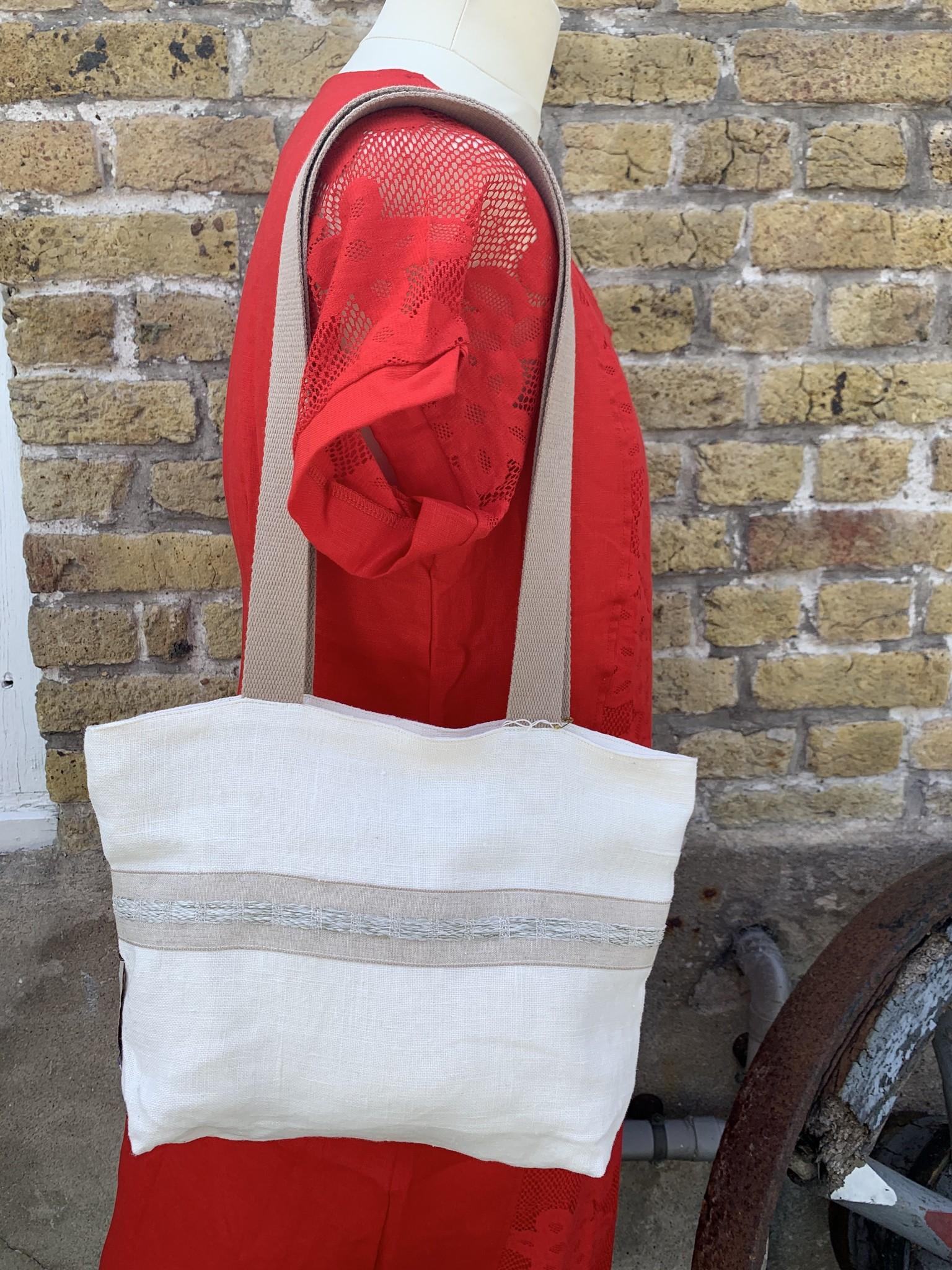 Le grenier du lin White bag