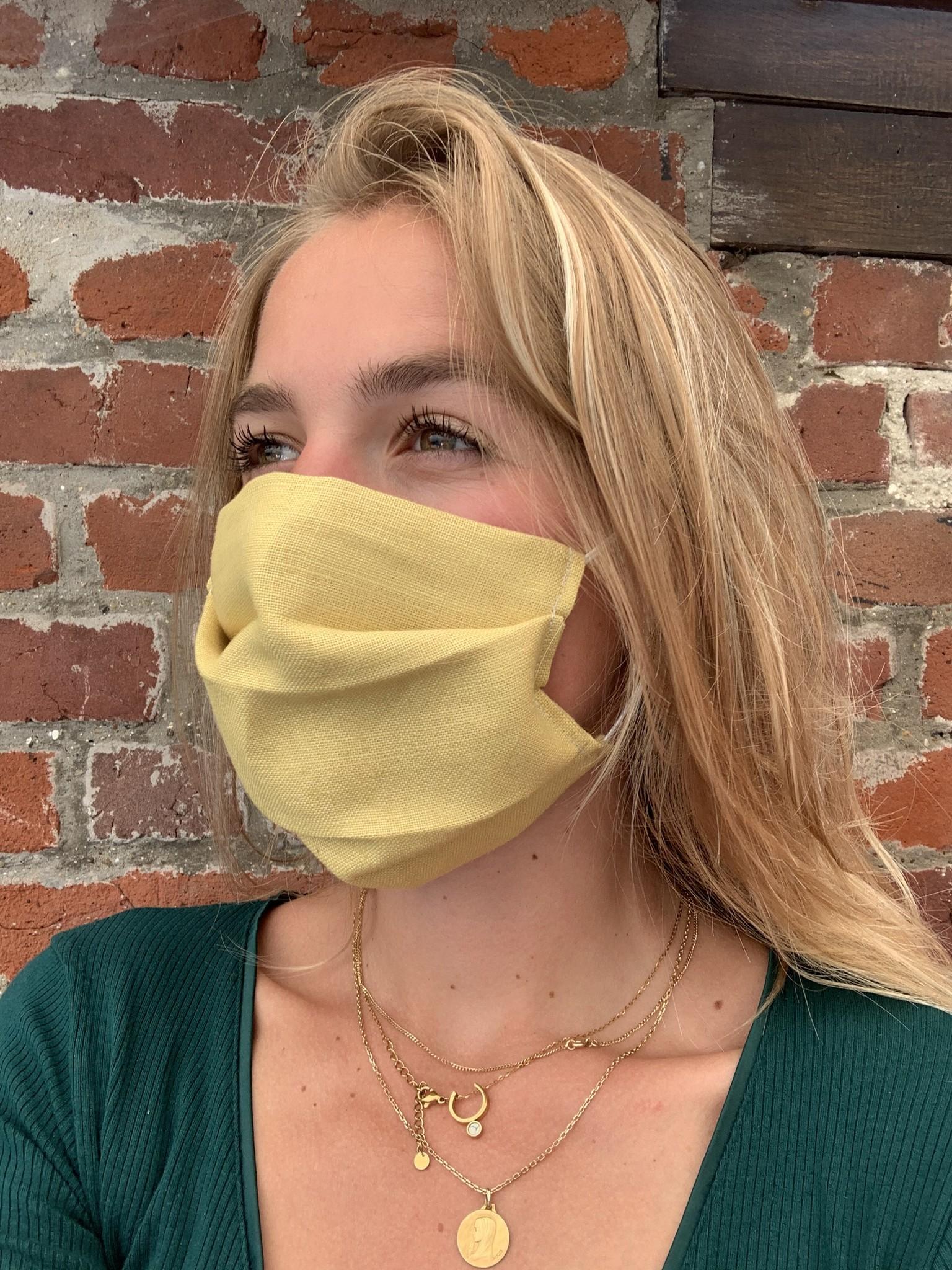 Geel masker