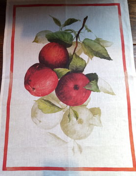 "Tea towel ""apples"