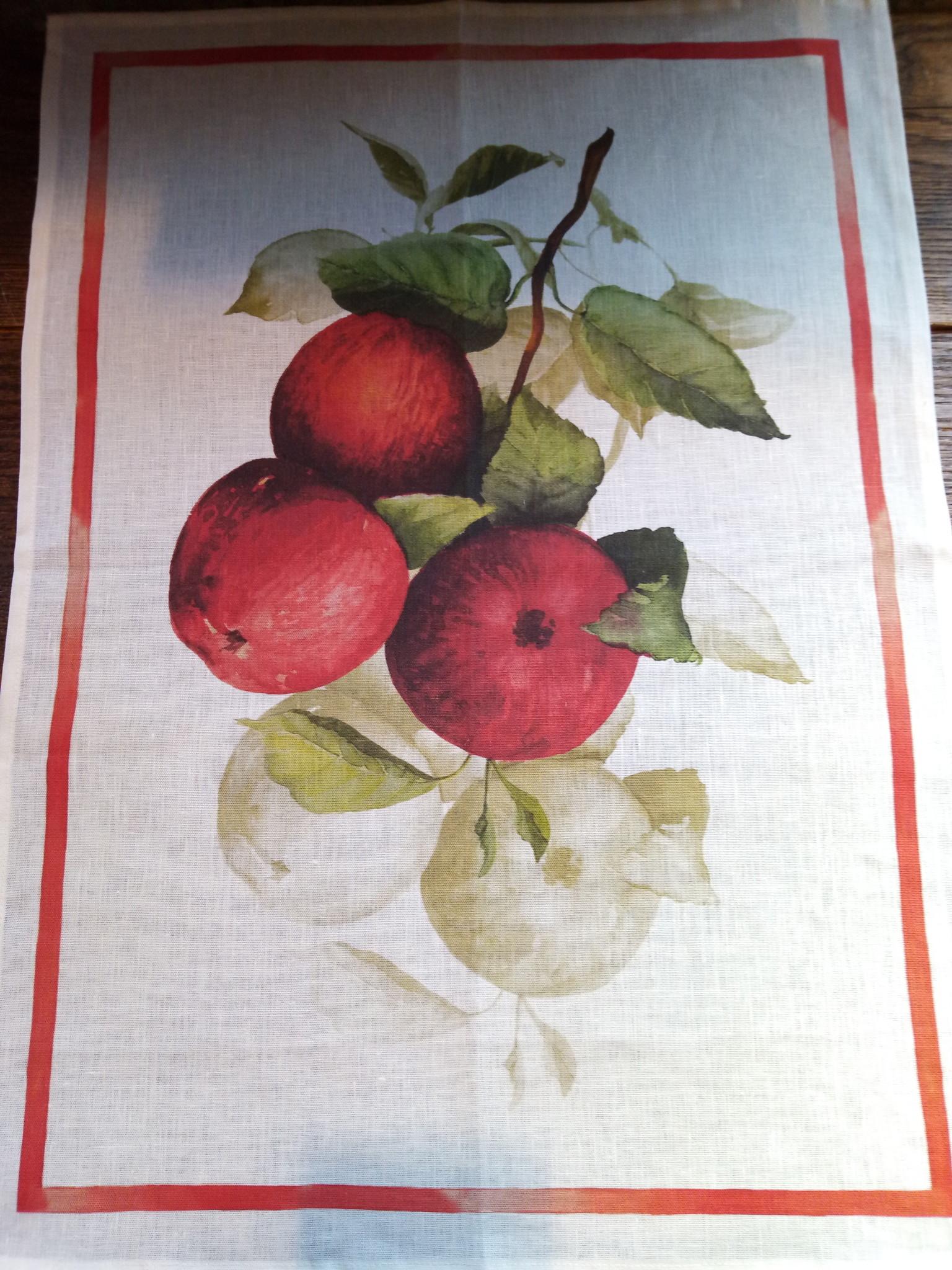"Tea towel ""apples"