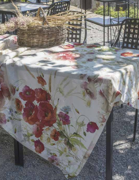 "poppy"" tablecloth"