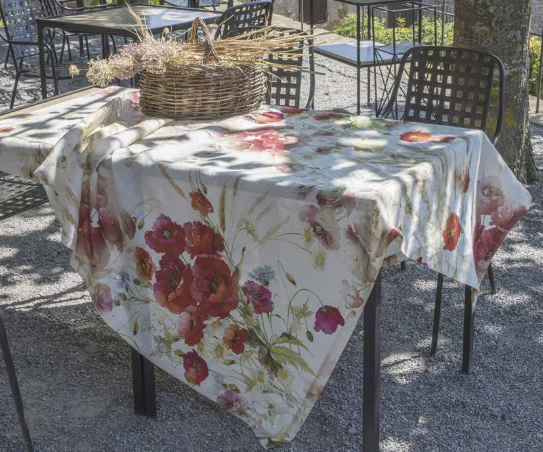 "poppy"" tablecloth"