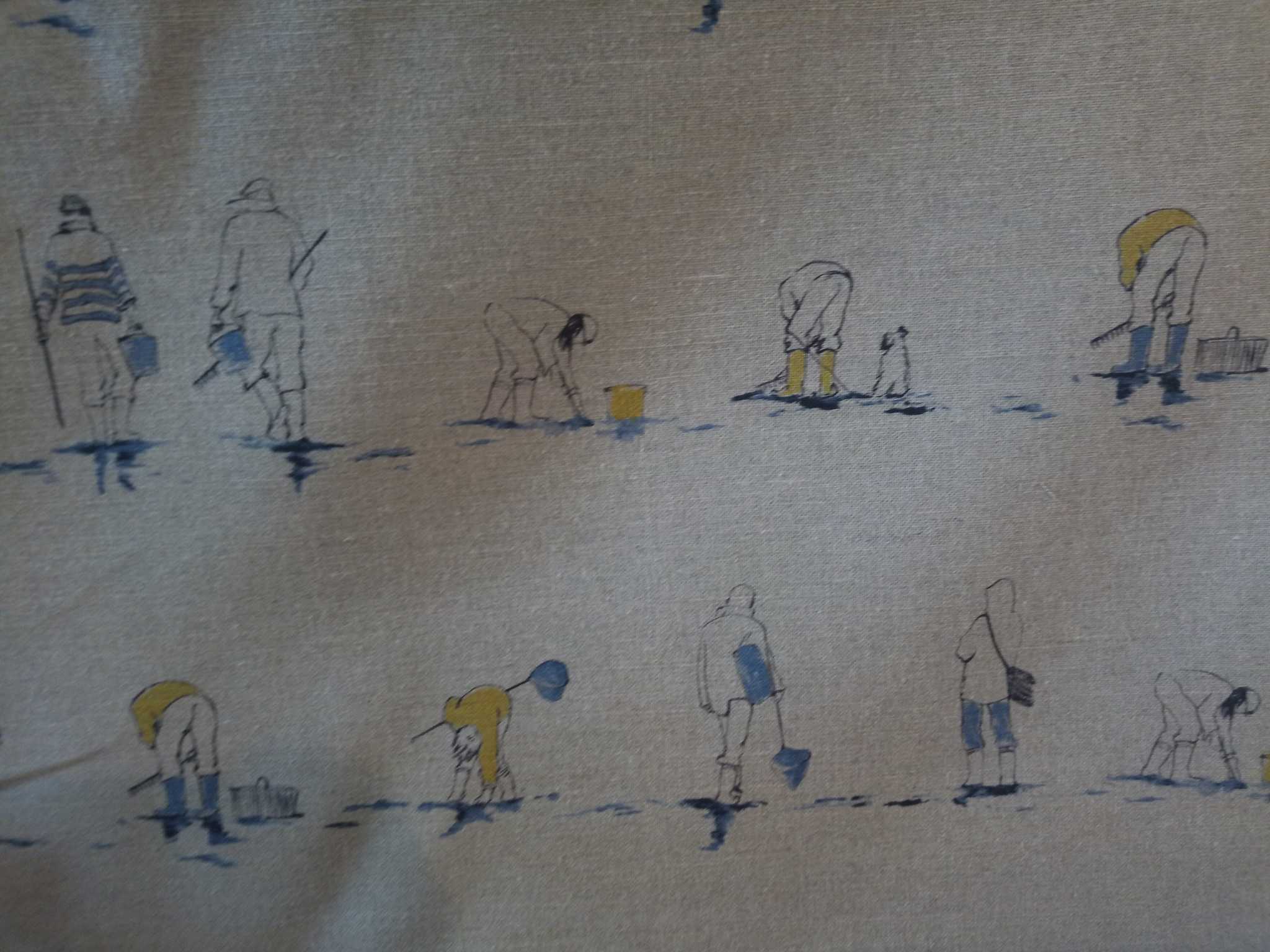 "Small fishermen"" fabric"