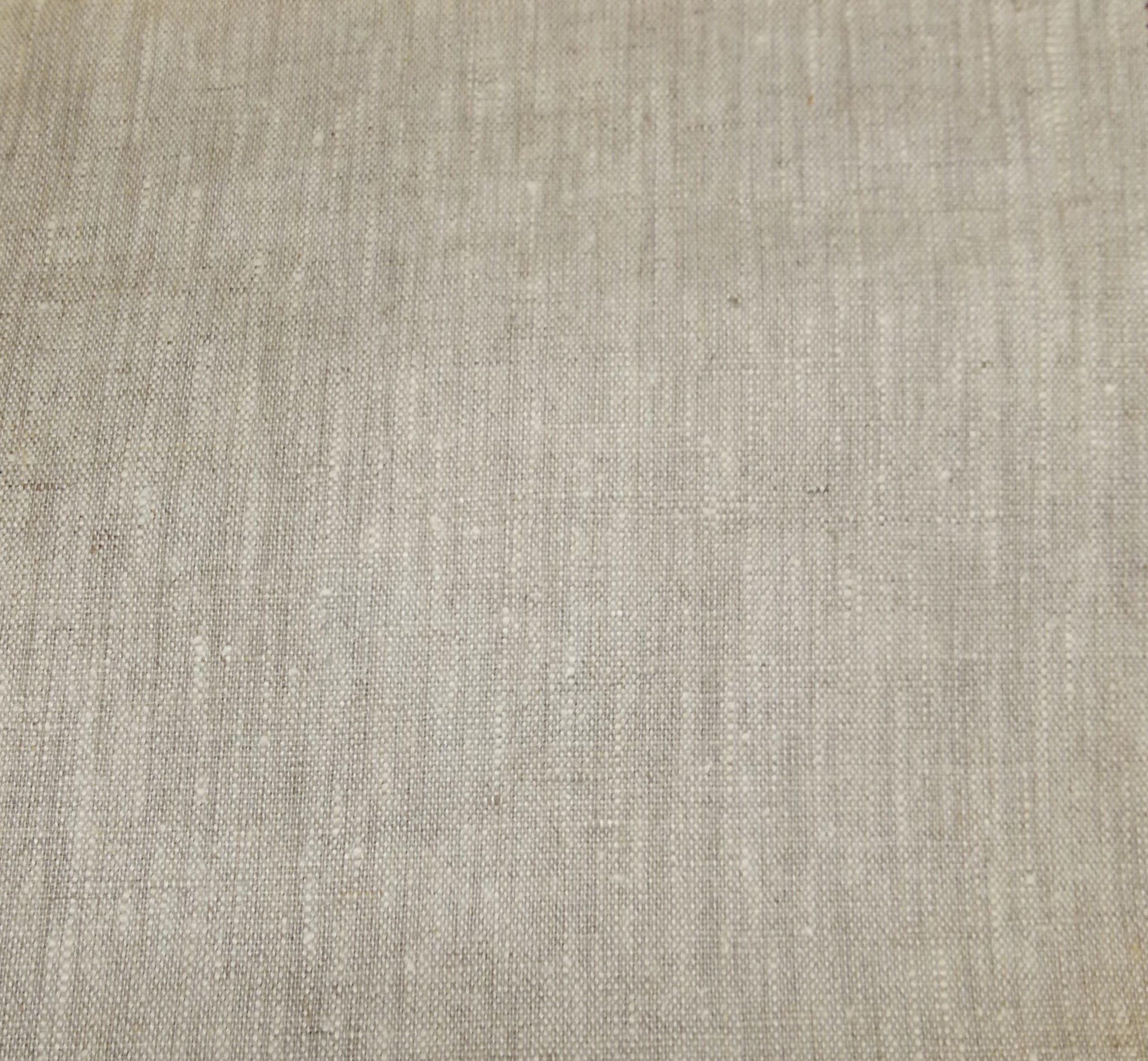 """Linen with """" linthal """" coating"""