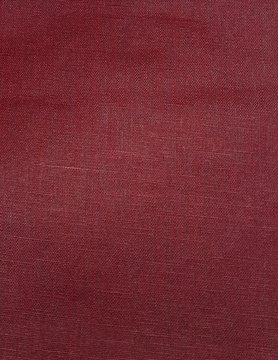 cranberry  coated linen