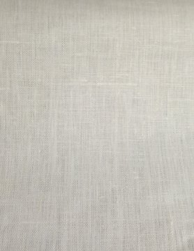 white  coated linen