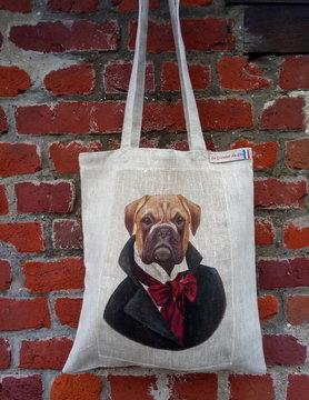 Le grenier du lin bulldog bag