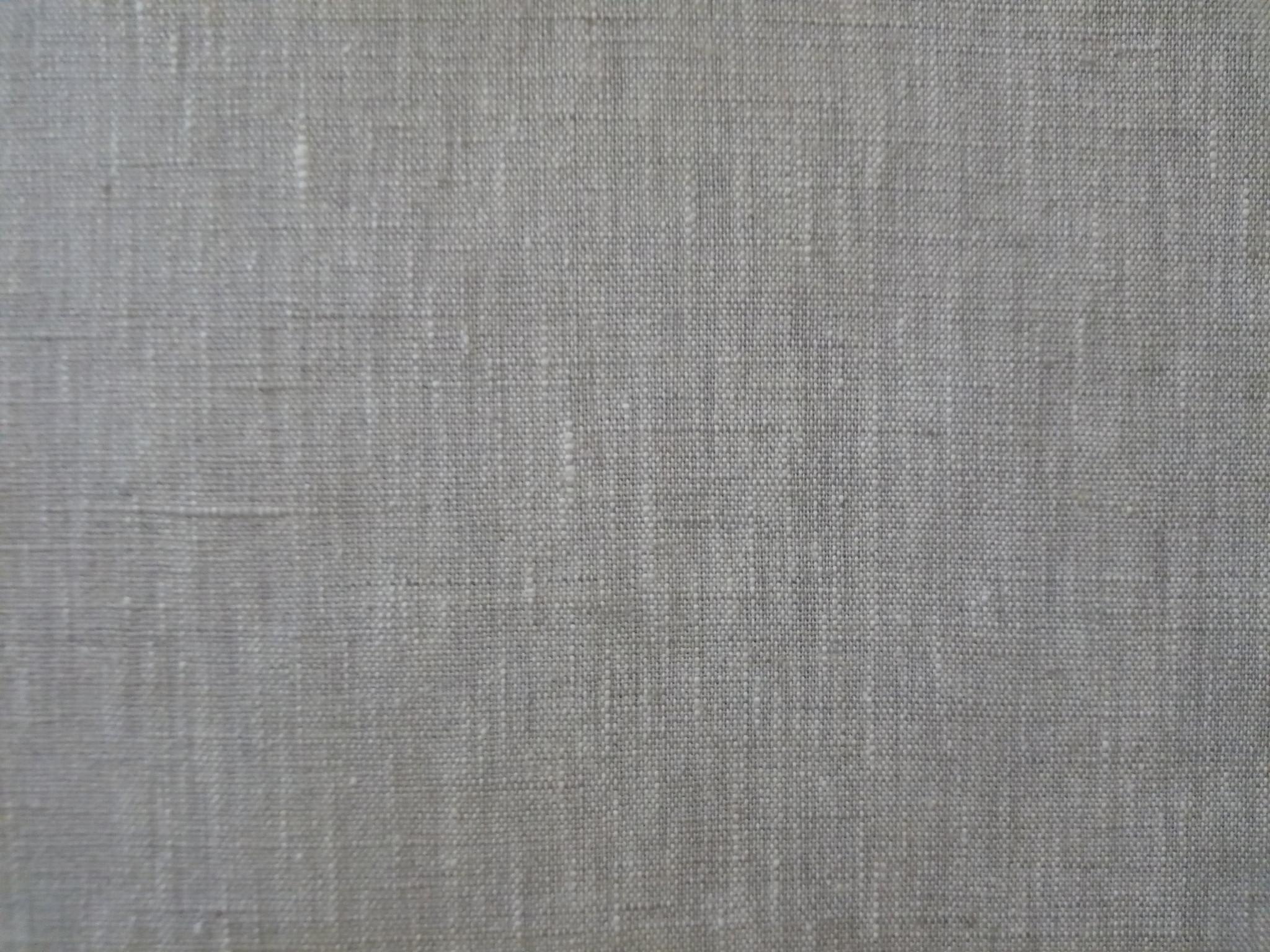 "Le grenier du lin Natural ""linthal"" fabric"