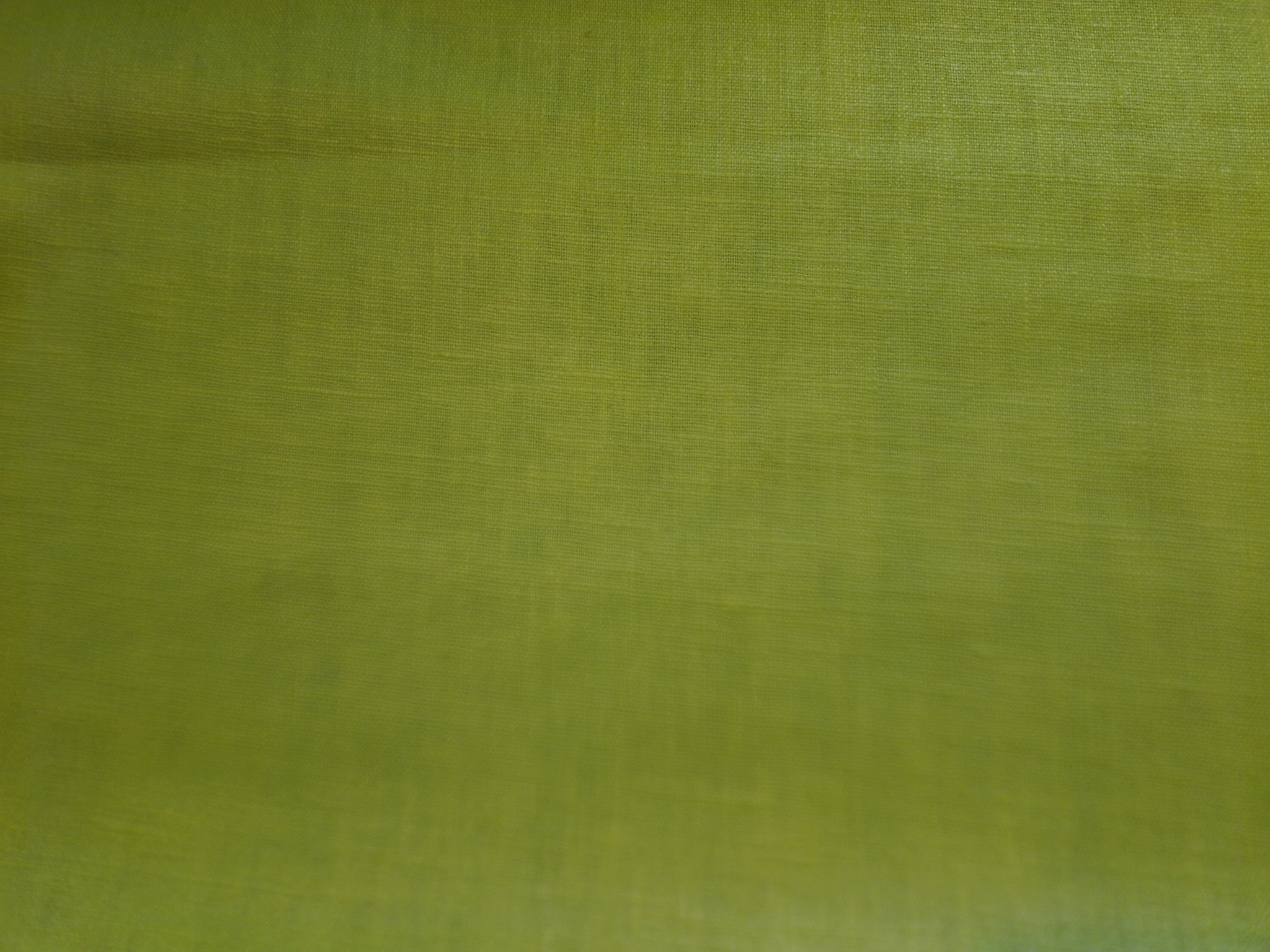 "Le grenier du lin aniseed green "" coated linen"