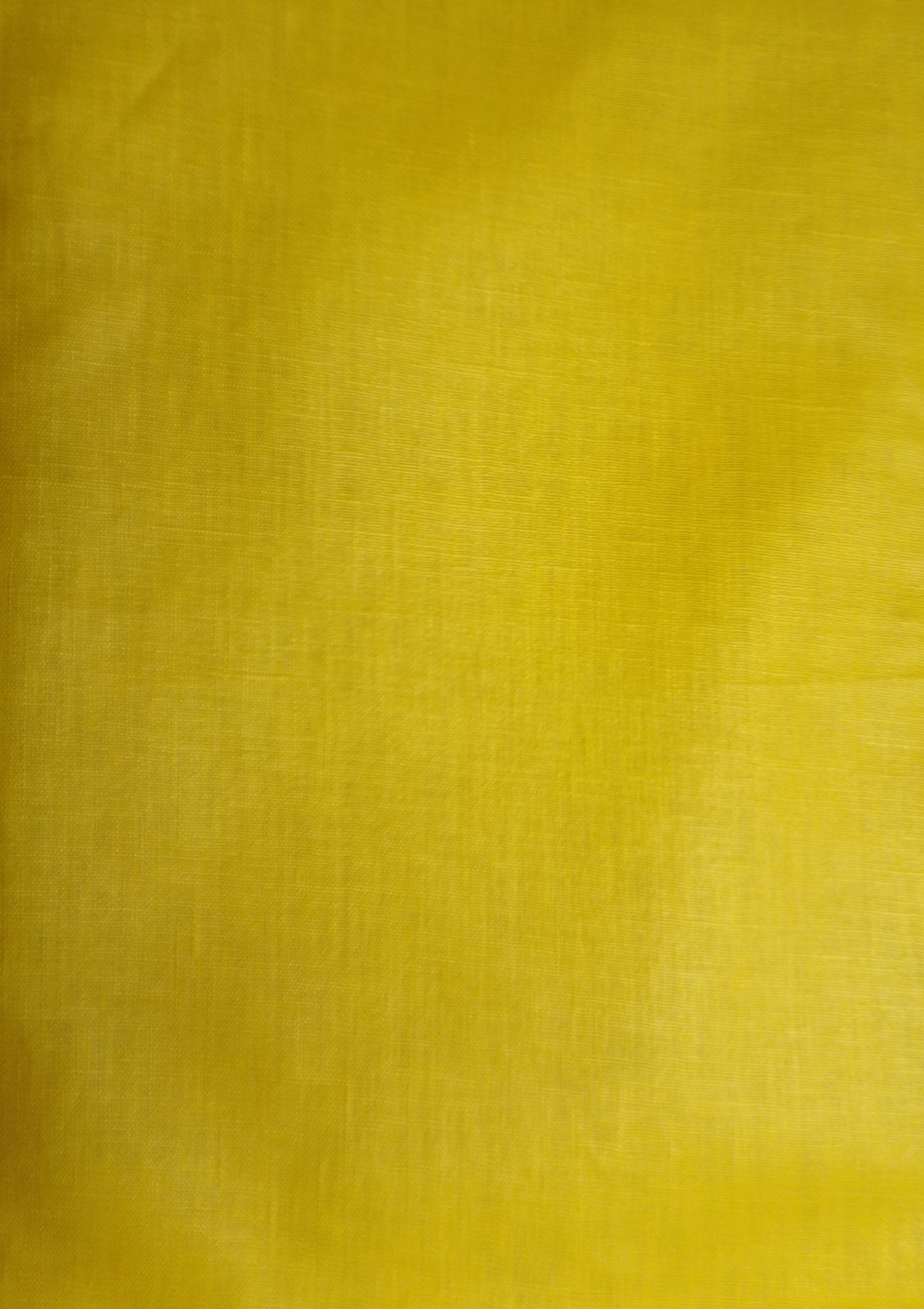 yellow coated linen