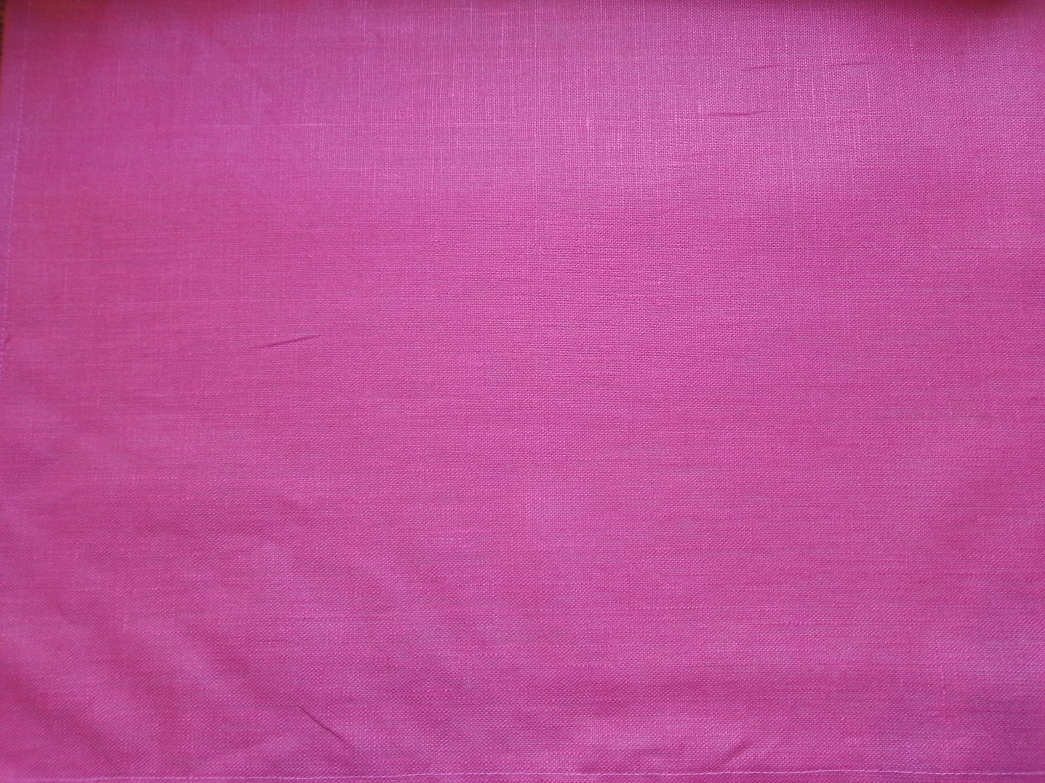 "coated linen fabric "" fuschia"""
