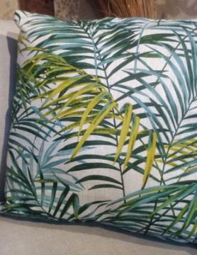 """palmboom"" kussen"