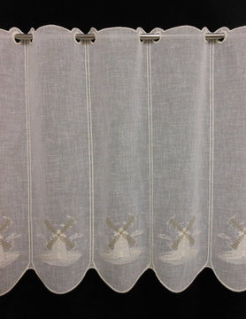 mill curtain