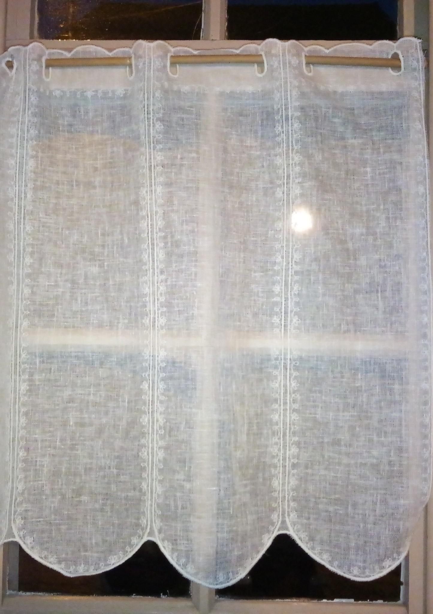 """""""neutral"""" curtain 60 cm high"""
