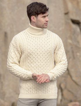 Turtleneck pullover R1949 carrick
