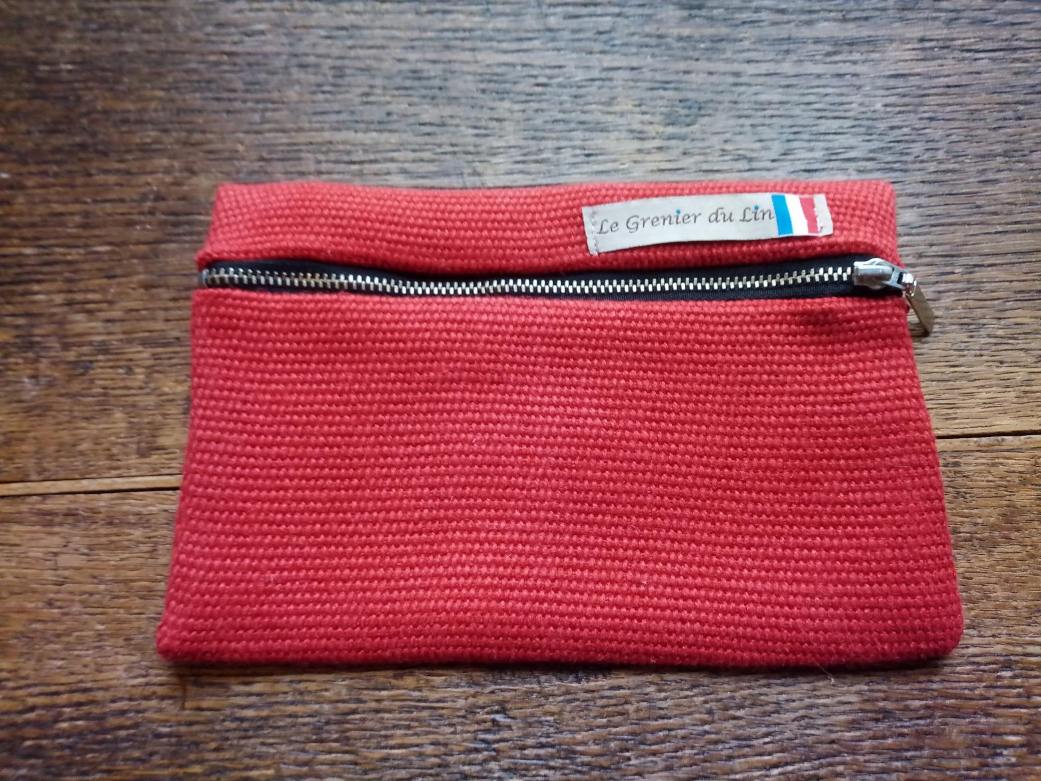 Le grenier du lin Red flat case