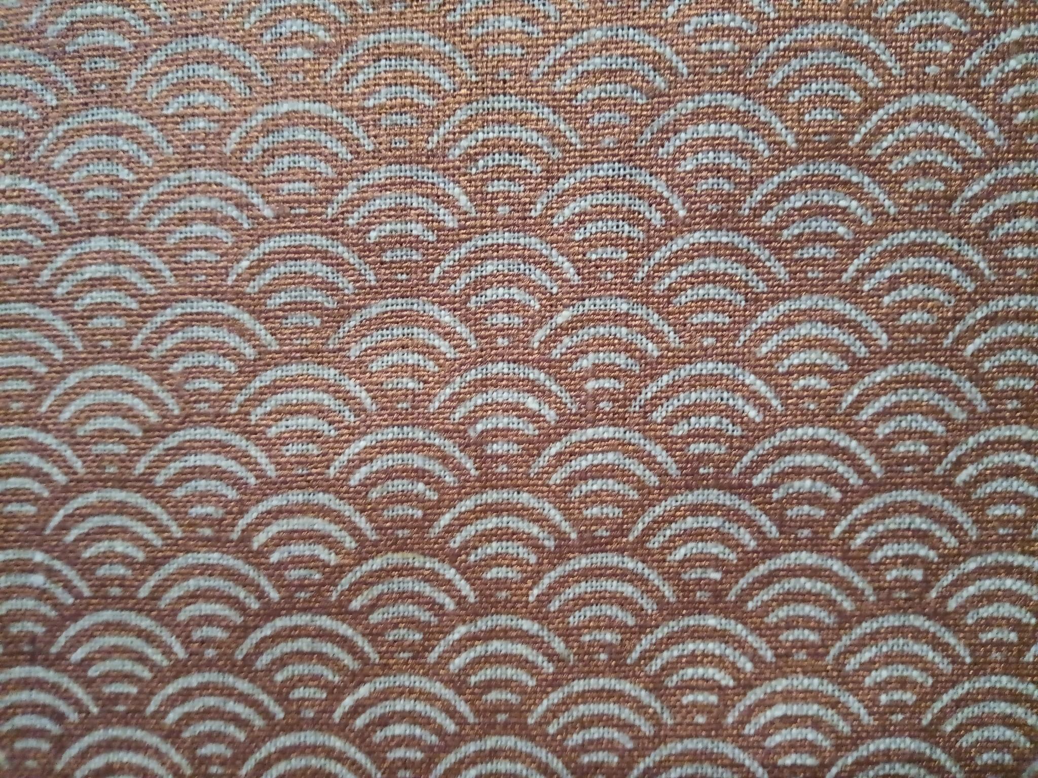 "Copper rainbow"" fabric"