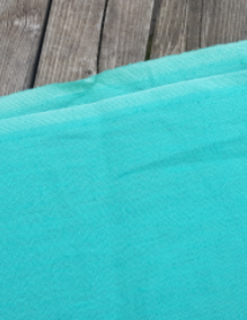 """Washed linen fabric """" Vert d'eau """""""