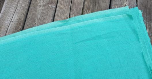 """Gewassen linnen stof """" Vert d'eau """""""