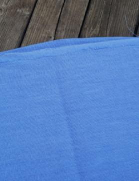 """Gewassen linnen stof """" bleu lavande """""""