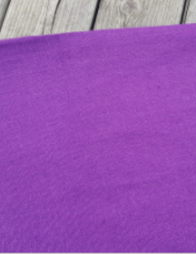 "Washed linen "" Violet "" fabric"