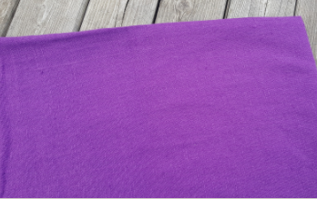 """Washed linen """" Violet """" fabric"""