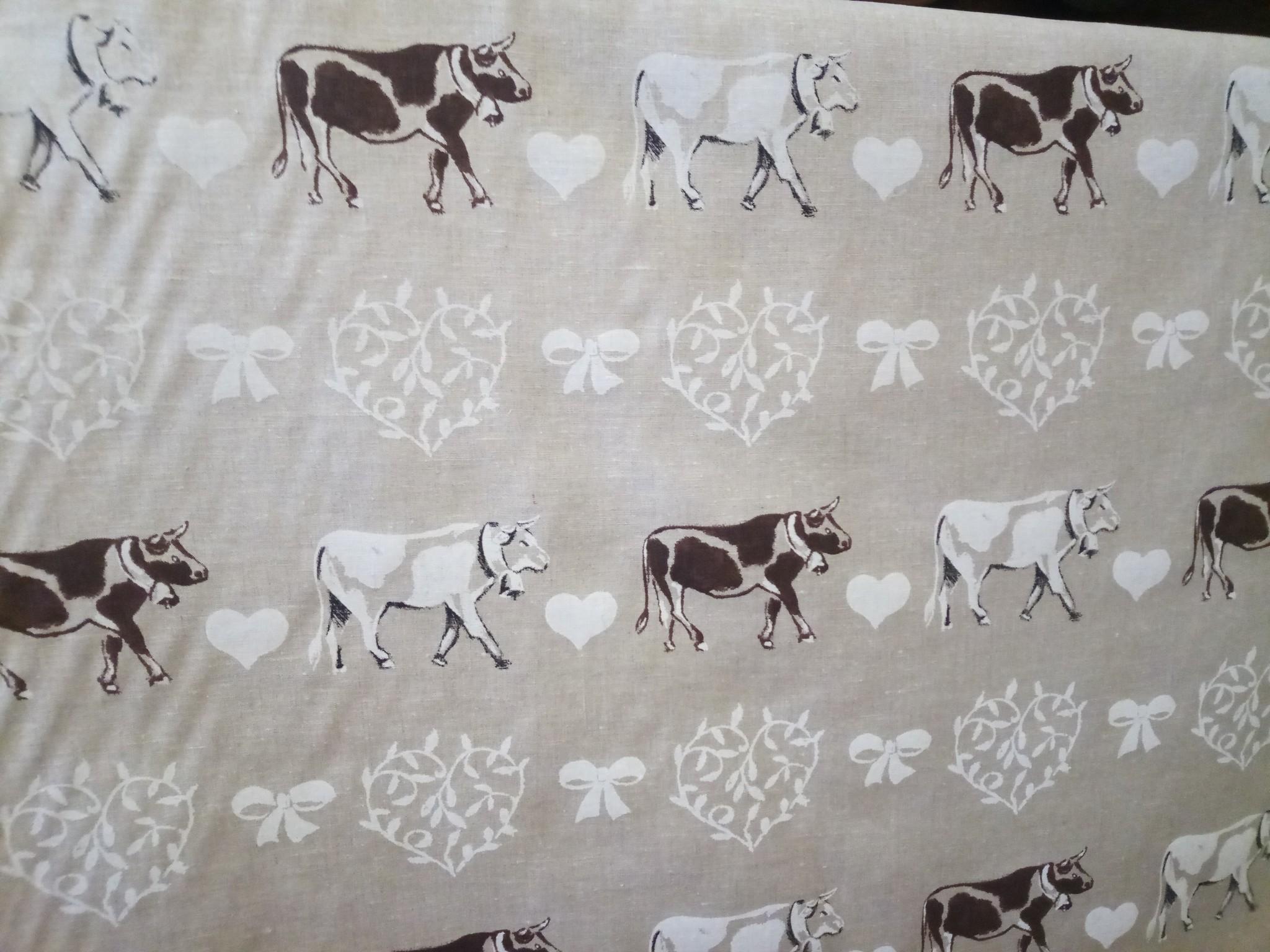"""Cow'' fabric"