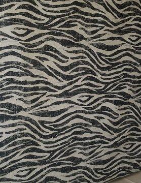 Zebra stof