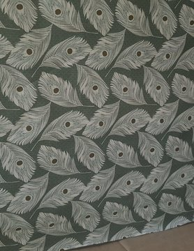 """Peacock feather"""" fabric"""