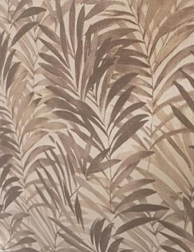 """Linnen bekleed """" bruine palm """""""