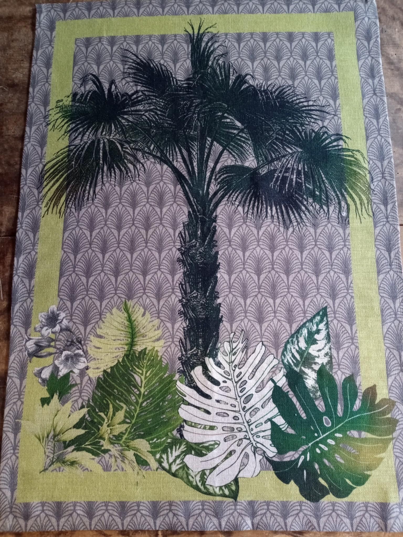 """Torchon """" palmier """""""