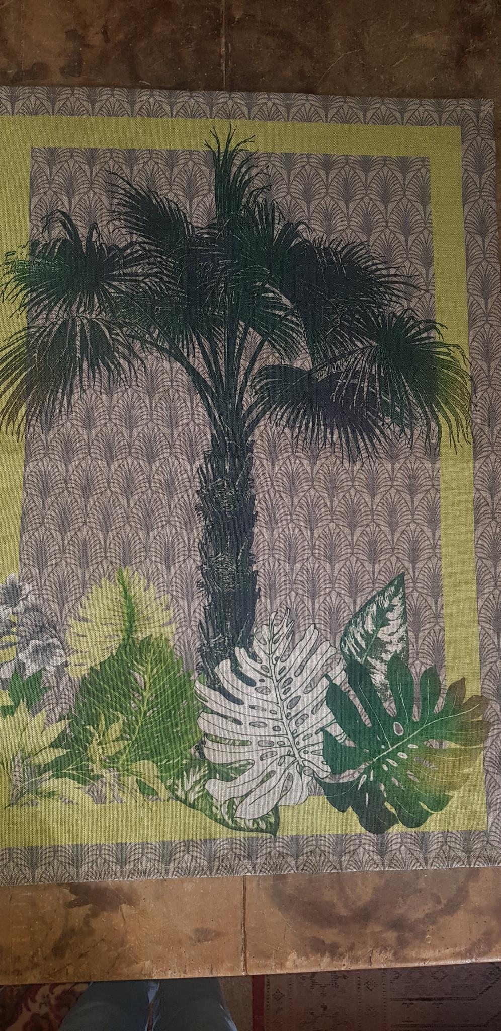 """Theedoek """" palmboom """""""
