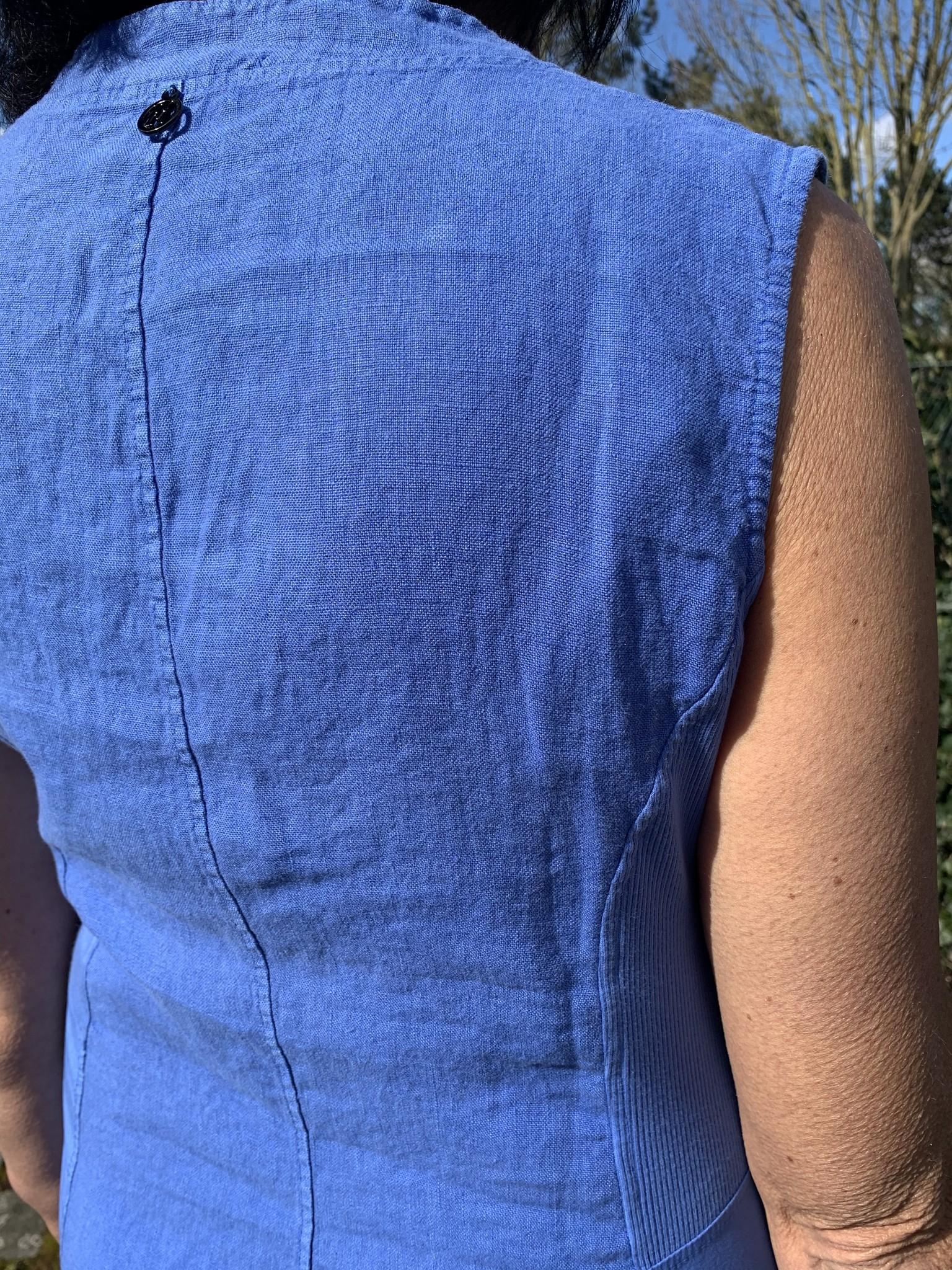 Maloka Robe ruby  bleuet