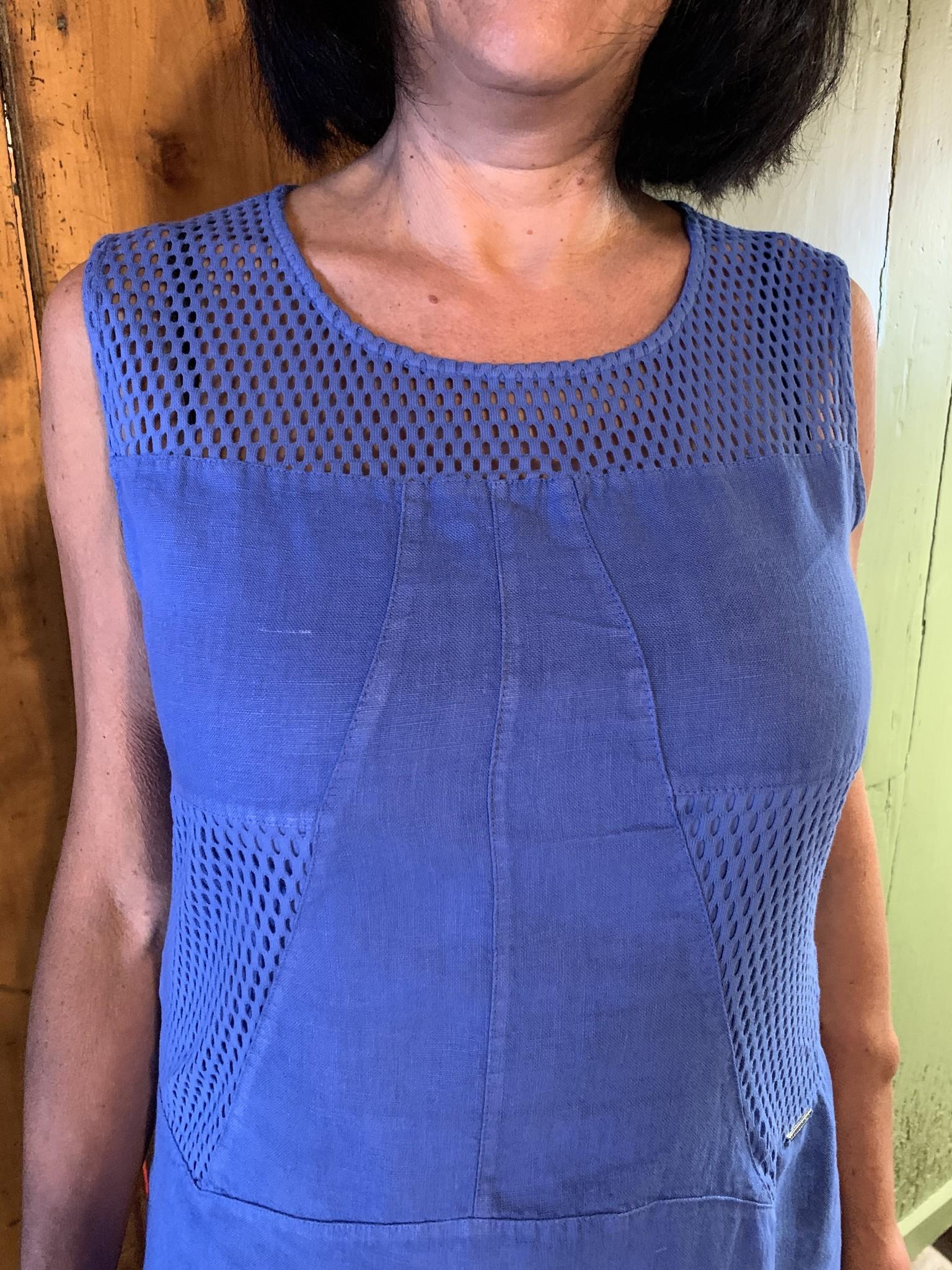 Maloka Robe reed  bleuet