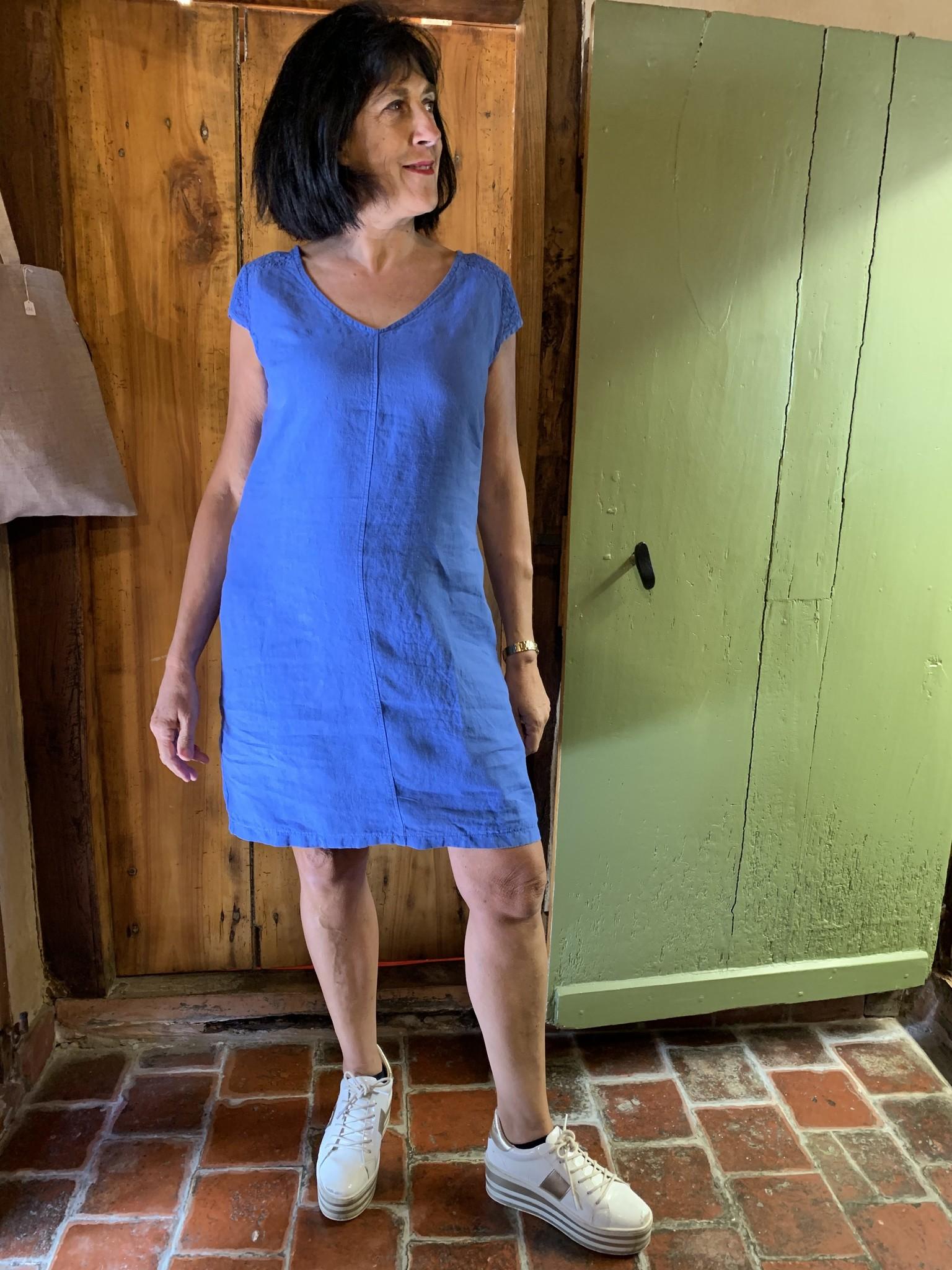 Maloka Cornflower reeva dress