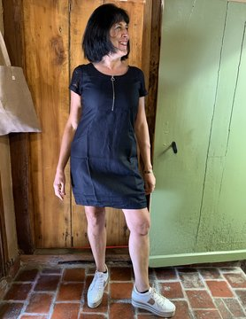 Maloka Zwarte raylin jurk