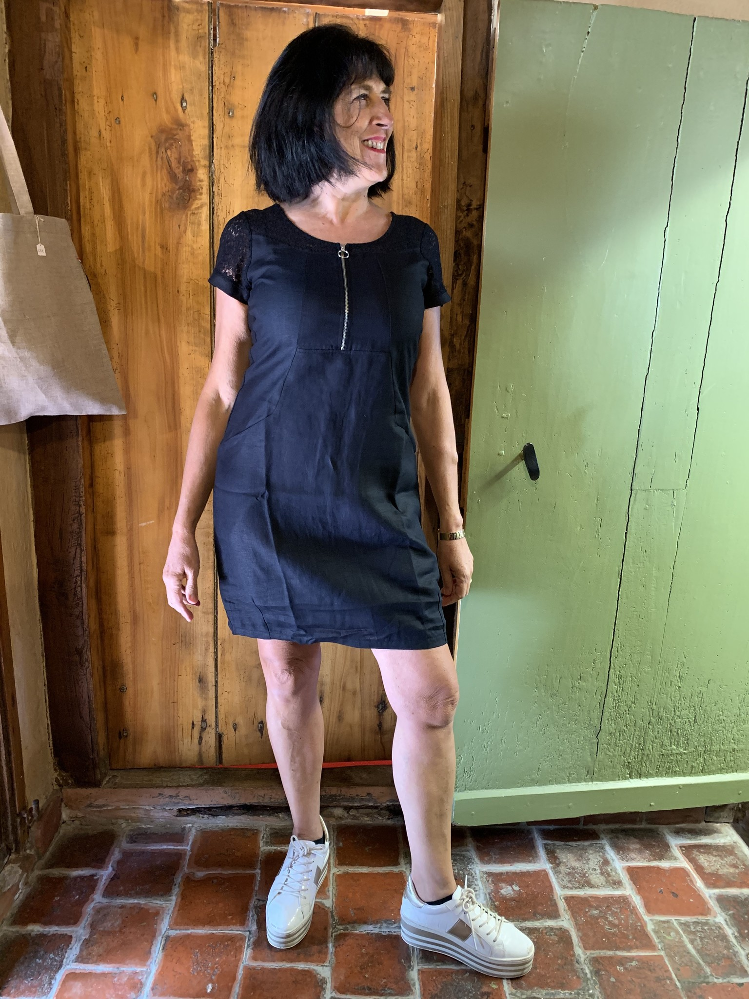 Maloka Black raylin dress