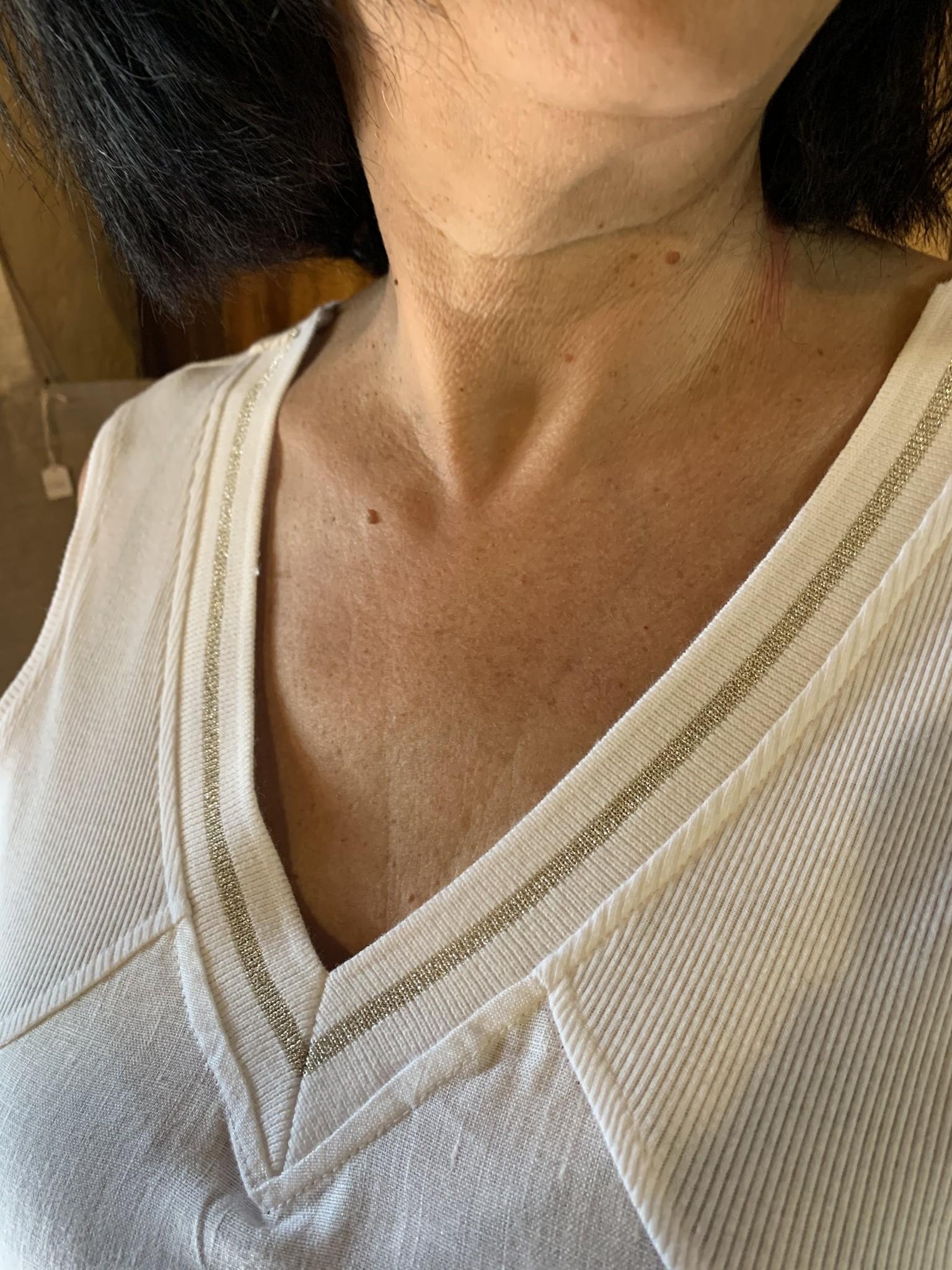 Maloka Robe raena blanc