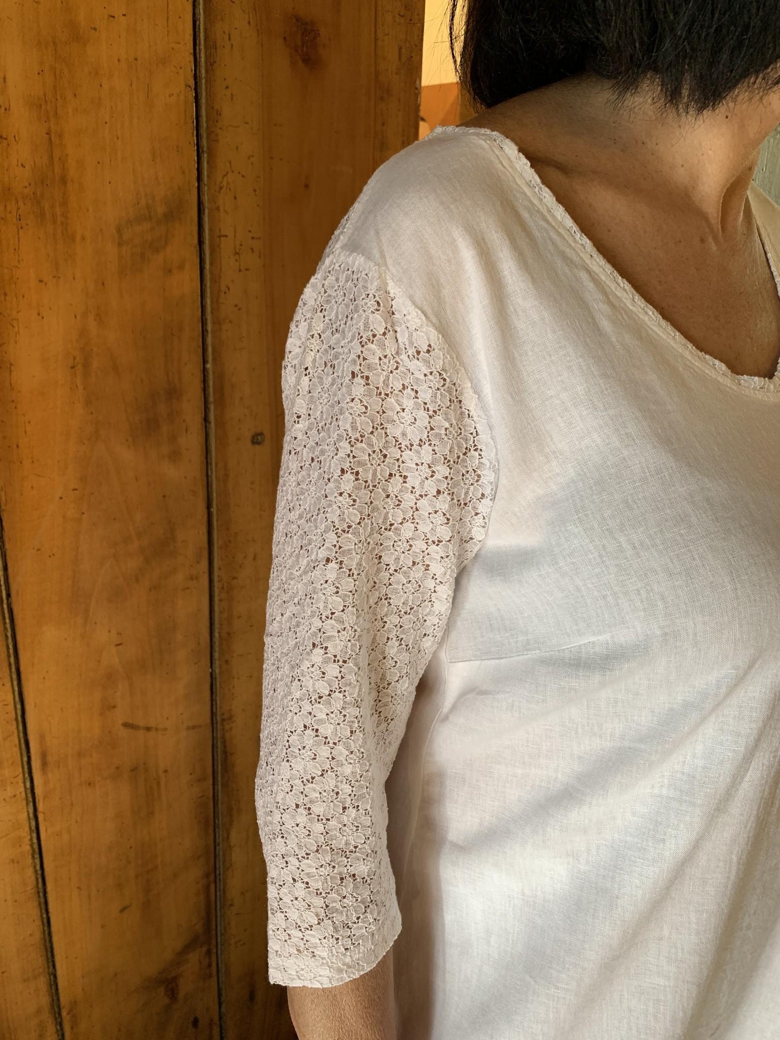Maloka White raine dress