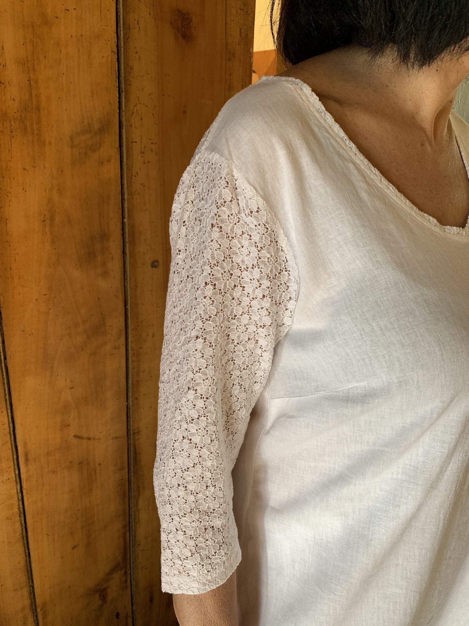 Maloka Witte rogge jurk