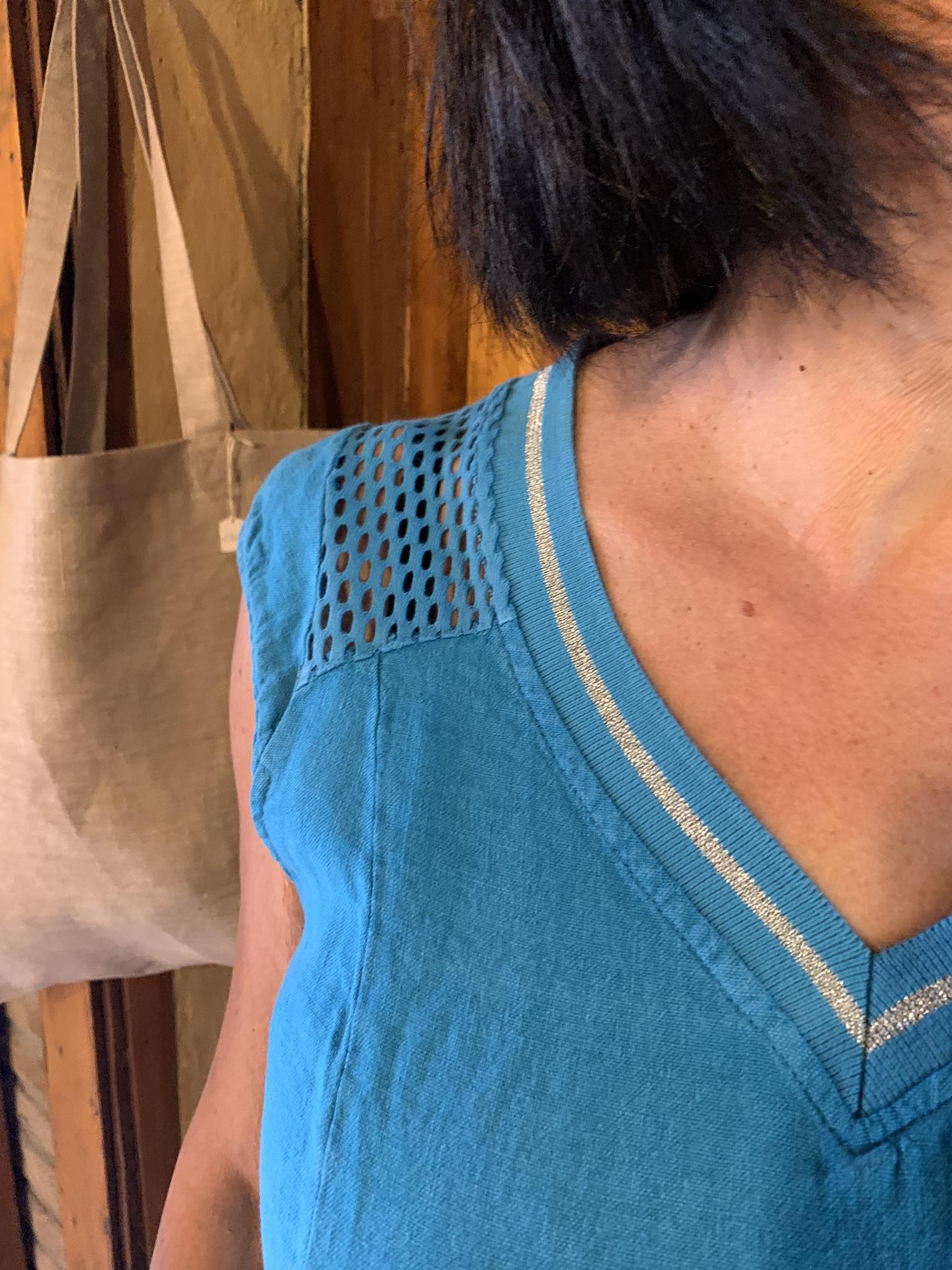 Maloka Hemelsblauwe Ryann jurk